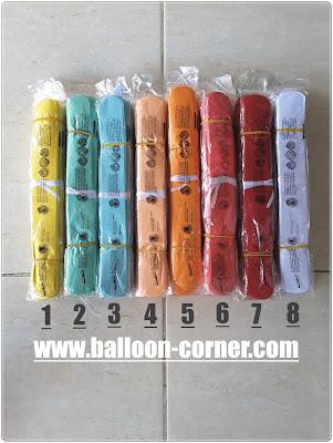 Pom Pom Paper / Pom Pom Kertas 25 Cm Warna Warni