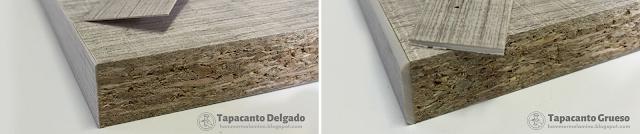 Es una cinta de madera PVC o Melamina que se usa para cubrir los bordes de los tableros recubiertos con melanina de color o diseño