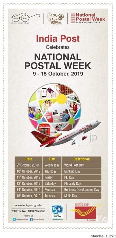 national postal week