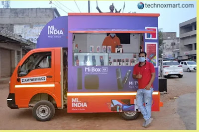 Xiaomi Introduces Latest 'Mi Store on Wheels' Moving Retail Outlets In India