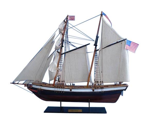 "Topsail Schooner Model  ""Lynx"""