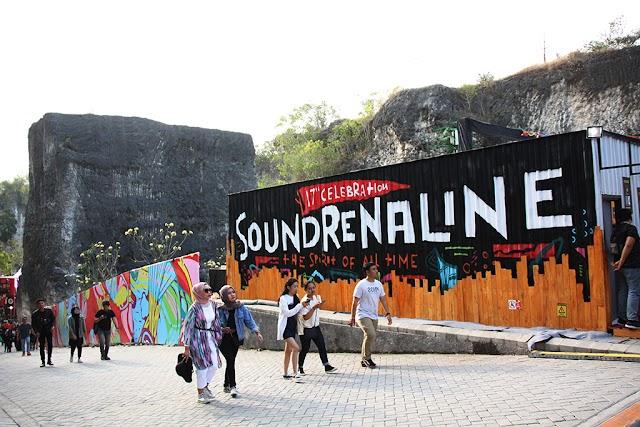 Festival Musik Soundernaline 2020 di GWK bali di tiadakan
