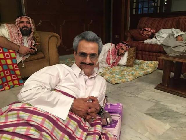 صور الوليد بن طلال في محبسه 2