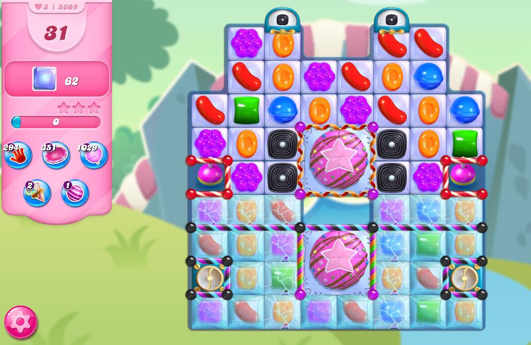 Candy Crush Saga level 8609