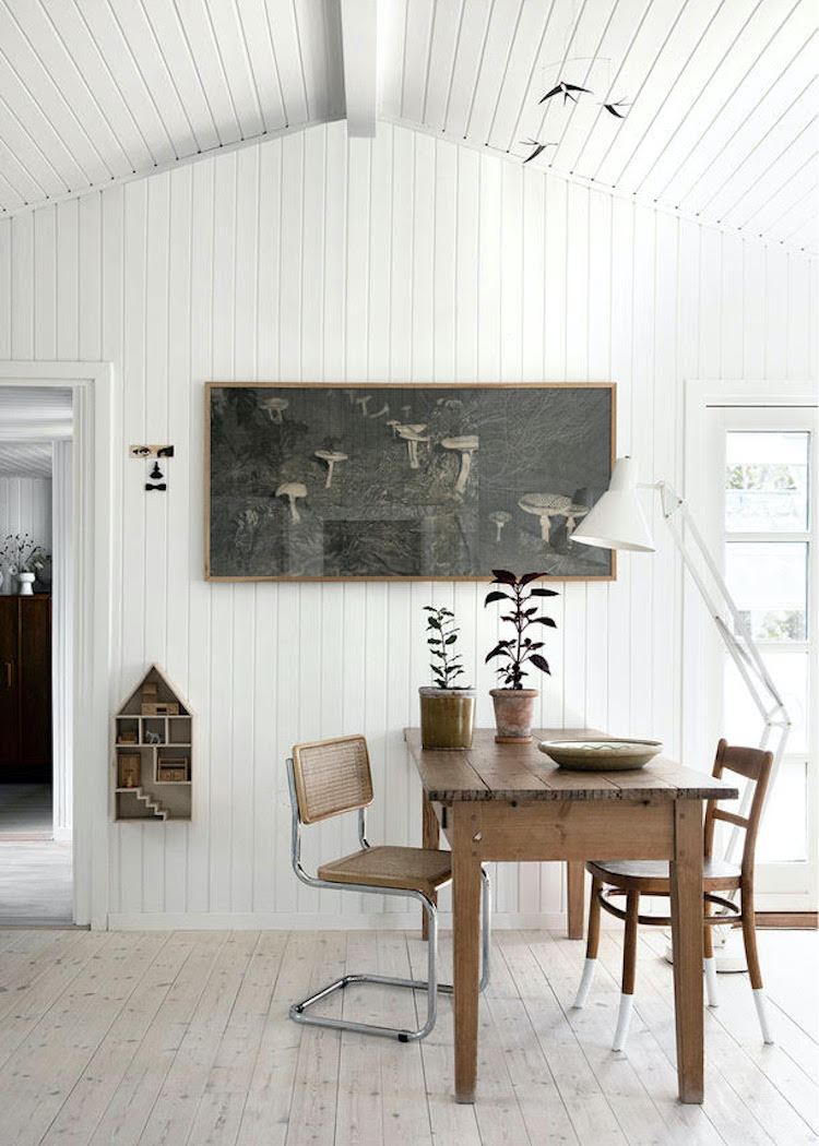 Charming Details In a Danish Allotment Cottage