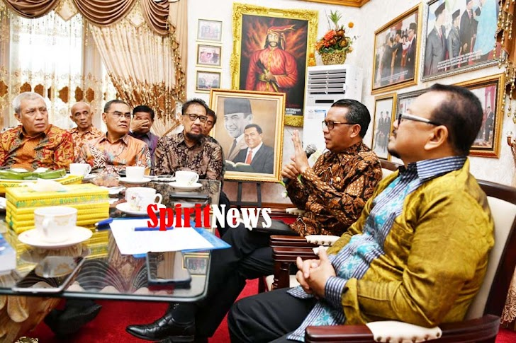 Gubernur Nurdin, Aset Milik Pemprov Harus Diamankan