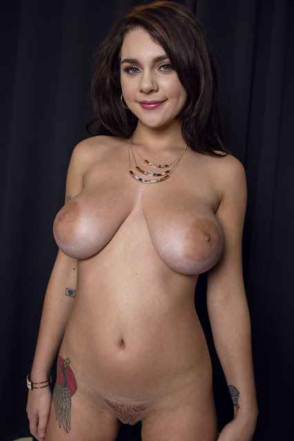 Gabbie Carte nude fabulous big tits with sexy nipples