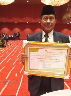 Pengadilan Tinggi Agama Palembang Menerima 2 Piagam Penghargaan dari Dirjen Badilag Mahkamah Agung RI,Hotel Grand Mercure, Harmoni, Jakarta.18 September 2019
