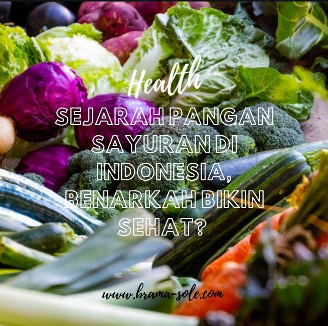 Sejarah Pangan Sayuran Di Indonesia, Benarkah Bikin Sehat?