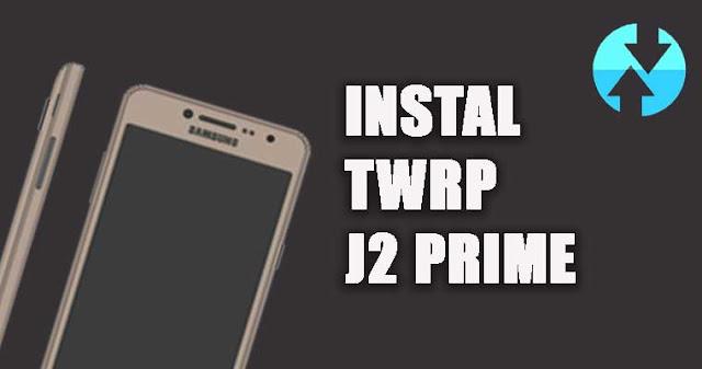 pasang twrp j2 prime