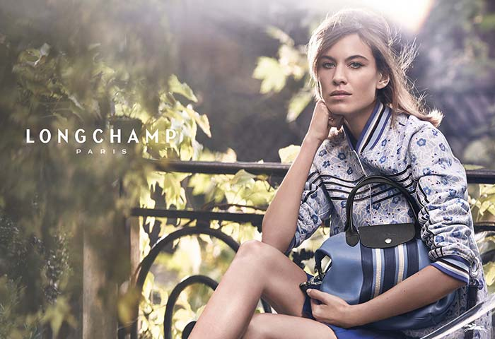Longchamp's Spring 2017 Campaign