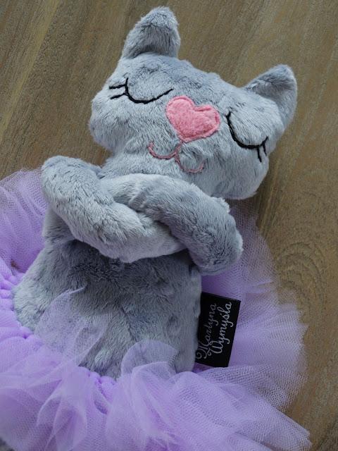 kotek baletnica przytulanka 4