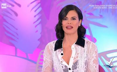 Bianca Guaccero detto Fatto foto 20 gennaio conduttrice tv