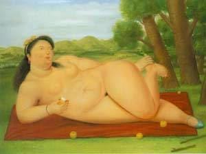 Colombiana - Fernando Botero e suas pinturas ~ O pintor das figuras volumosas