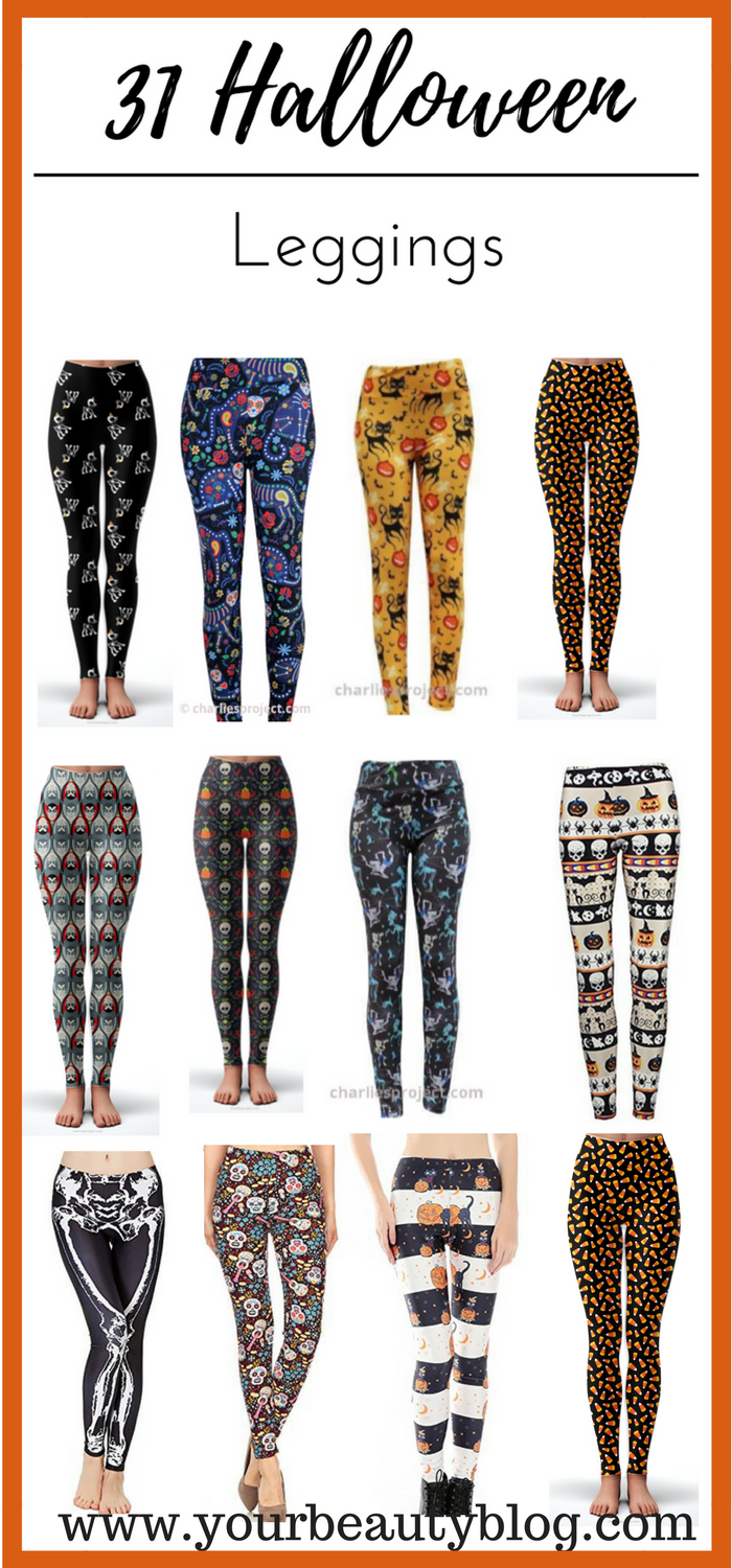31 Halloween Leggings Like Lularoe Including Plus Size TC and OS ...