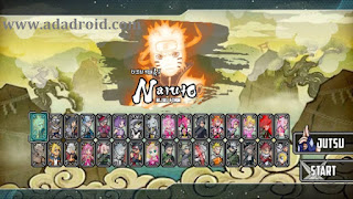 Naruto Senki Mod Chou Ultimate Ninja Storm R Apk