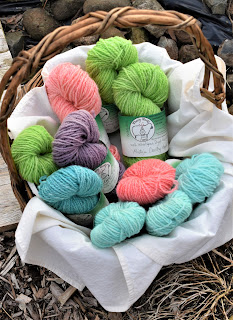100% Wheelspun Yarn by Wheely Wooly Farm