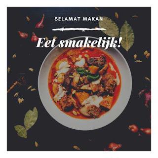 selamat makan dalam berbagai bahasa belanda