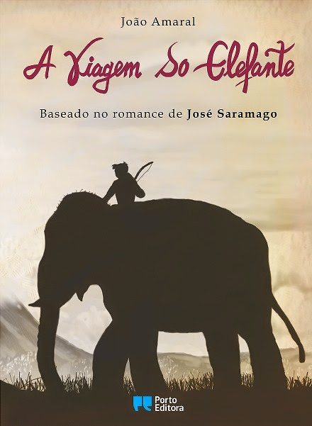 d09fedf7742 A Viagem do Elefante - BD Baseado no romance de José Saramago de João  Amaral - Novidade Porto Editora