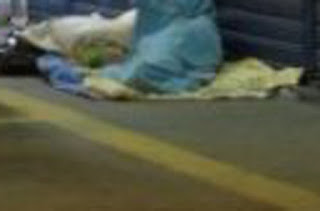 Tristeza em Conquista: Morador de rua grita por socorro por não aguentar frio na madrugada