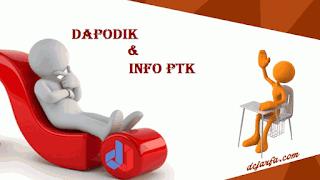 Permasalahan dan Solusi Dapodik dan Info PTK 2018