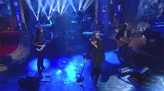 "Father John Misty's - ""Holy Sh+t"" on Stephen Colbert Proves that Father John has to be Seen to be Heard."