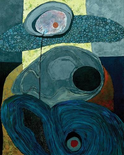"by Merikokeb Berhanu - ""Untitled III, Corporeal Contemplation Series"", 2014"