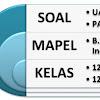 50 Soal UAS Bahasa Indonesia Kelas XII (12) Semester 1 Terbaru