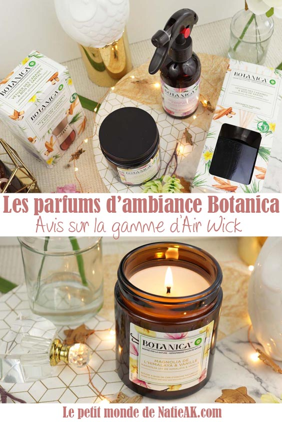 parfum d'ambiance Botanica Air Wick avis