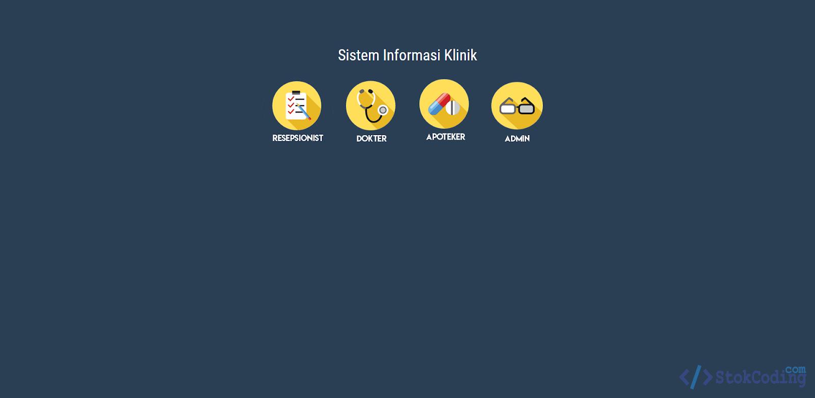 Sistem Informasi Klinik Berbasis Web (Laravel)