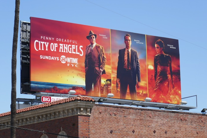 Penny Dreadful City of Angels FYC billboard