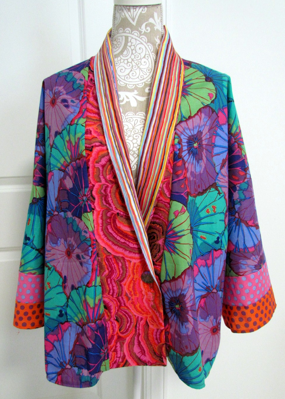 Kleider In A Form Melody Johnson: Kaffe Kimono