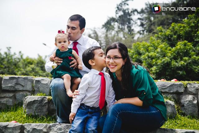 sesion fotos familia navidad