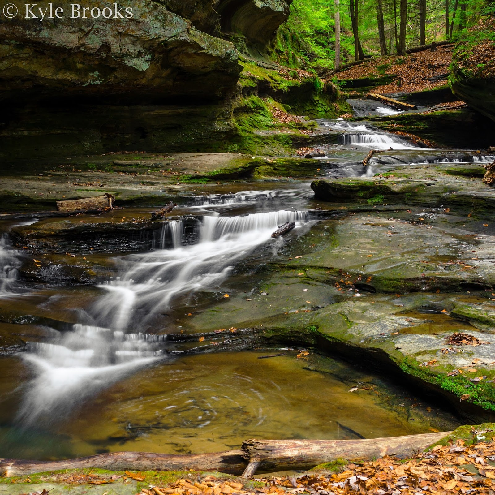 Old Man's Cave Waterfalls