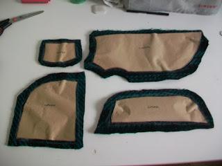 Resto piezas patrones ABrigo DIY