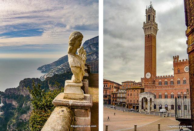 Ravelo e Siena, Itália
