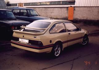 Трехдверка хэтчбек форд сиерра 1984 года