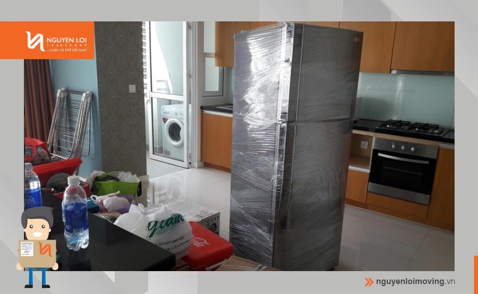 bao bọc tủ lạnh
