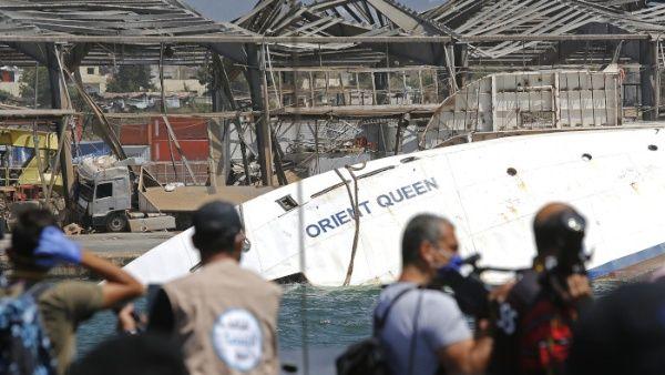 Líbano rechaza pesquisa internacional sobre explosión en Beirut