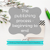 Writing Wednesdays: The publishing process - beginning to end