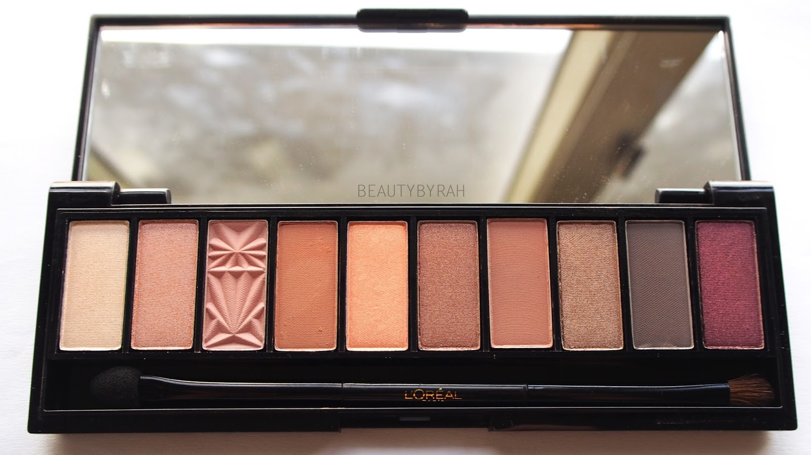 L'Oreal La Palette Nude  in Nude Beige & Rose Review and Swatches