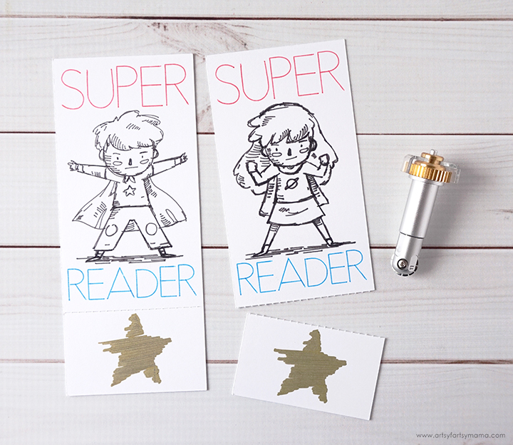 """Super Reader"" Bookmarks"