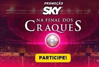 Promoção Final dos Craques Sky Viagens