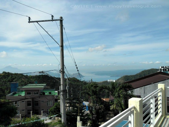 View of the Taal Lake from the hotel
