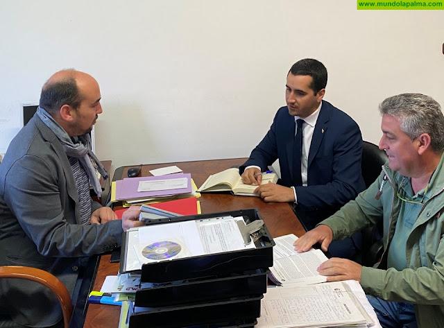 """Pérez Sicilia: """"Tenemos que trabajar juntos para que La Palma tenga una voz viva y fuerte en las Cortes"""""""