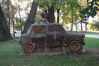 scultura macchina