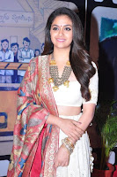 Keerthi Suresh At Zee Cine Awards Telugu 2018