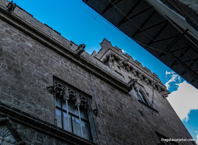 Fachada do Palácio Abatellis de Palermo