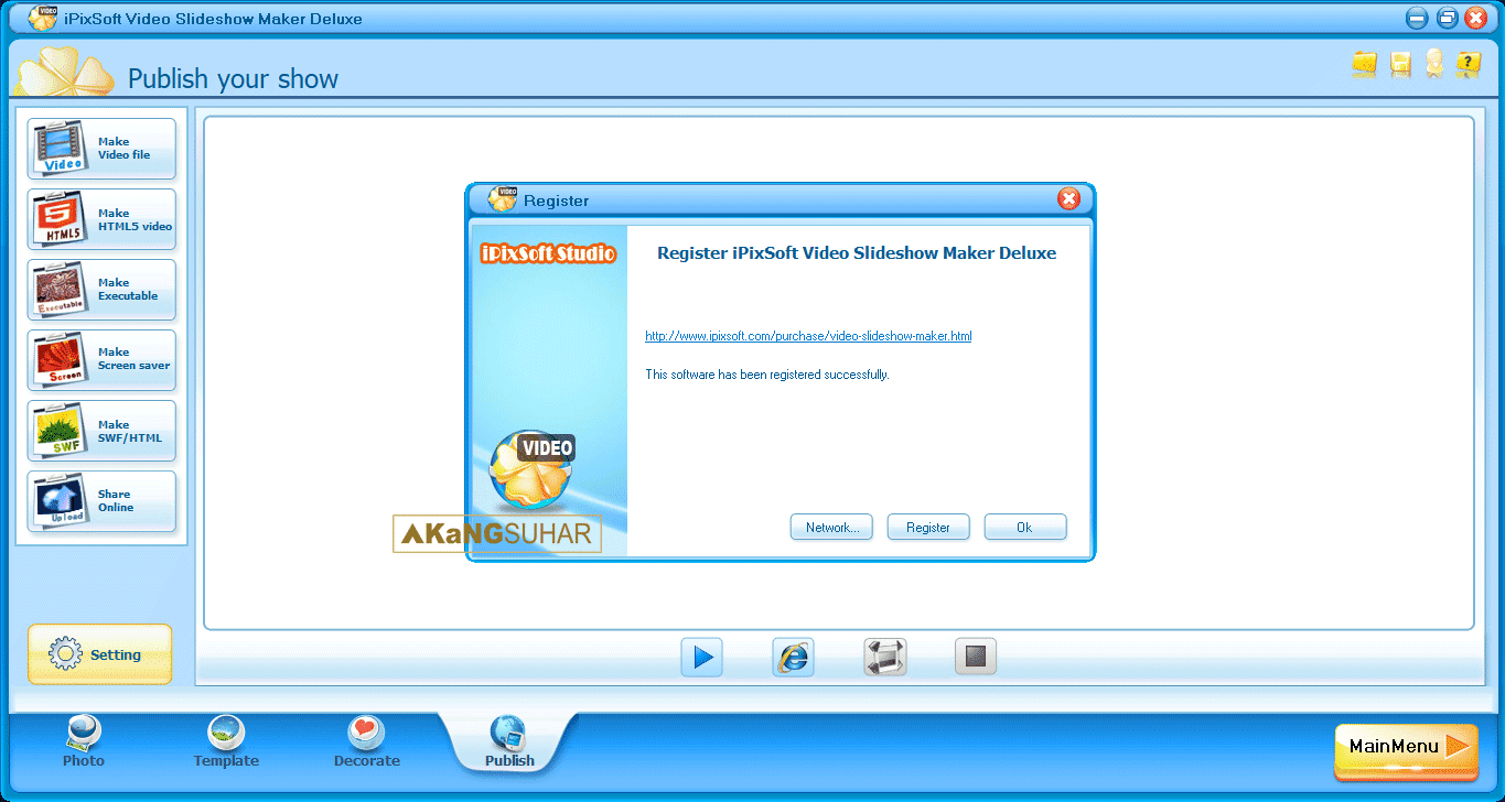 Download iPixSoft Video Slideshow Maker Deluxe Full registration code Latest Version