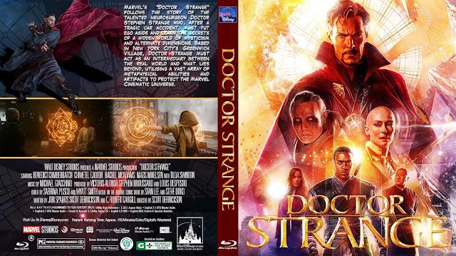 Doctor Strange Bluray Cover